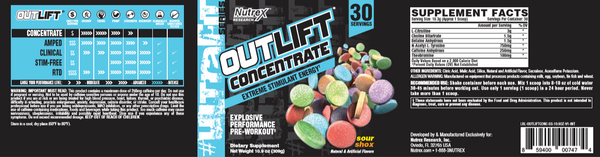 NUTREX OUTLIFT CONCENTRATE - Grocery Deals