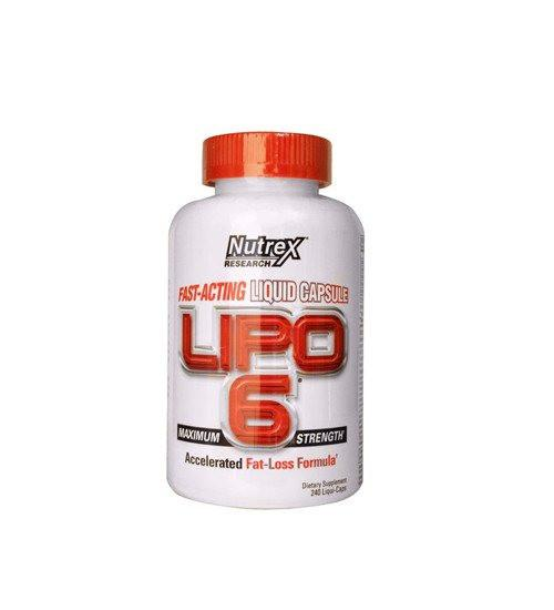 NUTREX LIPO-6 FAT LOSS LIQUID CAPS - Grocery Deals