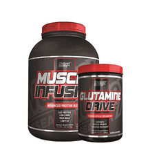 Nutrex Muscle Infusion 5Lb + Glutamine Drive - Grocery Deals