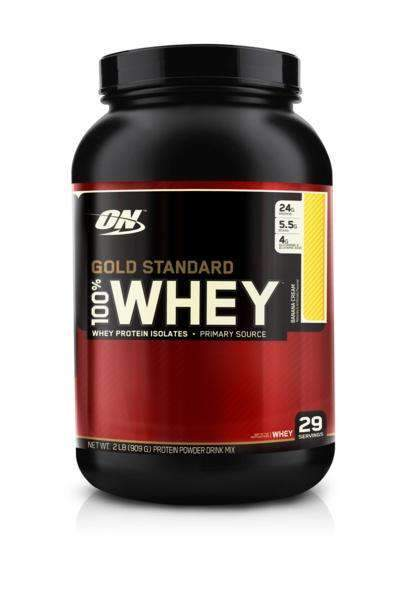 OPTIMUM NUTRITION 100% WHEY PROTEIN 2lb - Grocery Deals