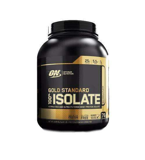 OPTIMUM NUTRITION GOLD STANDARD 100% WHEY ISOLATE 5LB - Grocery Deals