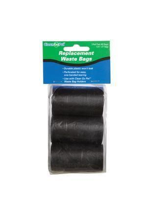 Doggy Clean up Bag Refil Rolls - 4 Pack - Grocery Deals