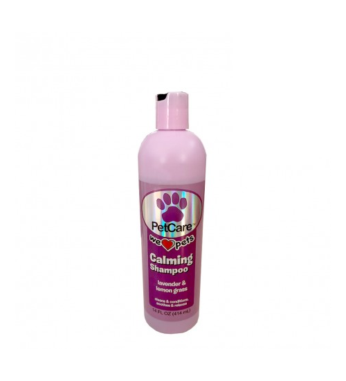 PETCARE CALMING SHAMPOO WITH LAVENDER AND LEMON GRASS 414ML