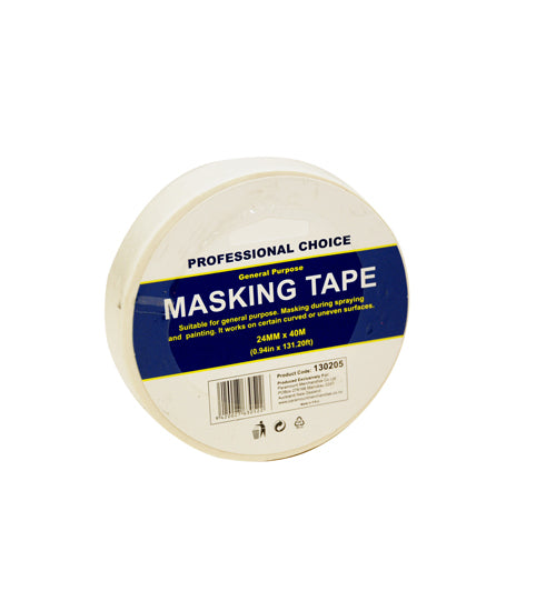 General Purpose Masking Tape24mmx40m - Grocery Deals