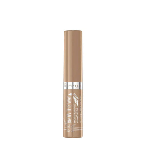 Rimmel Brow This Way Eyebrow Gel Blonde - Grocery Deals