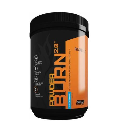 Rivalus- Powder Burn 2.0- 35 Serve - Grocery Deals