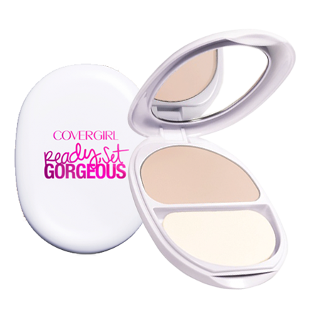 COVERGIRL Ready Set Gorgeous Pocket Powder Foundation 105-110 Fair - Grocery Deals