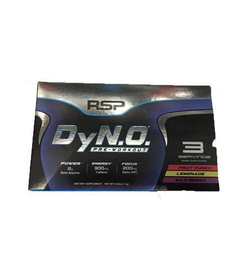 RSP Dyno Pre Workout 4 Pack -12 serves - Grocery Deals