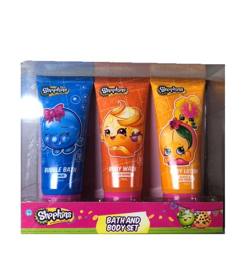 Shopkins Bath & Body Set