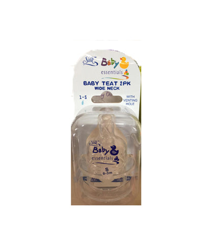 Silk Baby Teat 2 Pack
