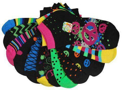 All Mixed Up Ladies Mix & Match Ankle Socks 12 Socks (6 Pair) - Grocery Deals