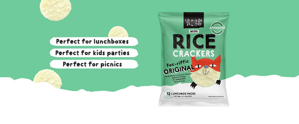 Mini Rice Crackers 12 Pack - Grocery Deals