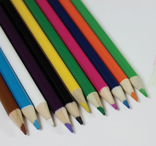 10 Pack Coloured Pencils - Grocery Deals