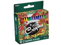 Color Crayons (8x80mm) 48's - Grocery Deals