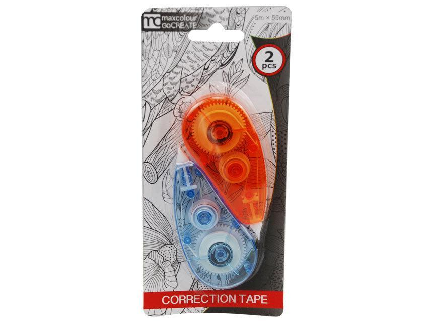 Correction Tape 2 Pack - Grocery Deals