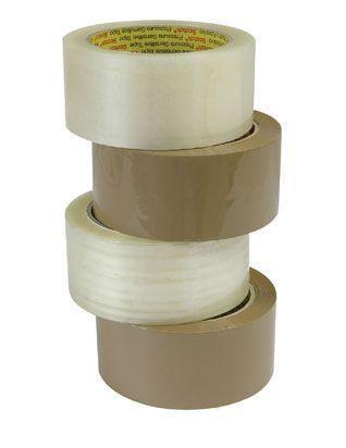 Packaging Tape - 100m - Tan - Grocery Deals