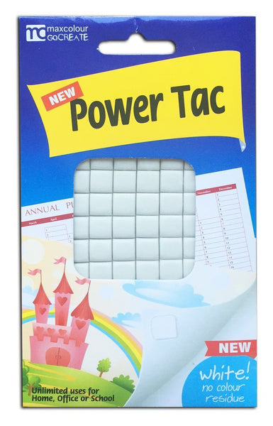 Power Tac - White Adhesive Tack - Grocery Deals