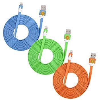 3M Two-tone Noodle USB Sync Data Charger Cable - Grocery Deals