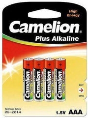 4 x AAA Camelion Plus Alkaline Batteries - Grocery Deals