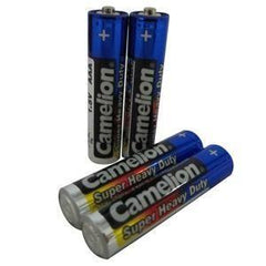 4 x AAA Camelion Super Heay Duty Batteries - Grocery Deals