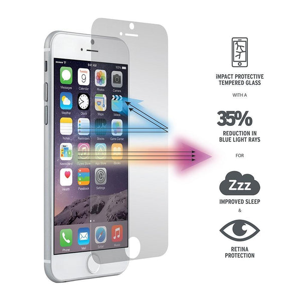 Clear Premium Tempered Glass Screen Protector Film for iPhone S5.5 - Grocery Deals