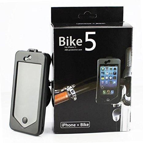iPhone 5 5s Waterproof Case Bike Handlebar Mount Bicycle Phone Holder - Grocery Deals