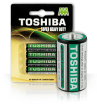 Toshiba Super Heavy Duty AAA Batteries - 4 Pack - Grocery Deals