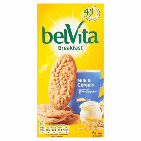 BELVITA BREAKFAST MILK & CEREAL - Grocery Deals