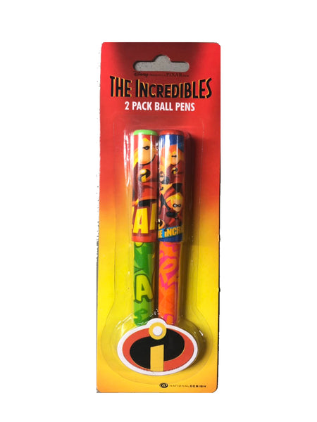 The Incredibles 2 Pack Ball Pens