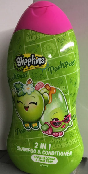 Shopkins 2 in 1 Shampoo and Conditioner