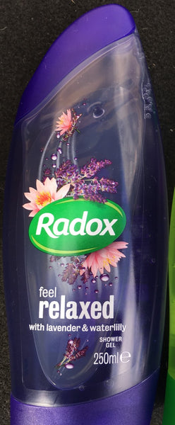 Radox Feel Relaxed lavender and water lily - Grocery Deals