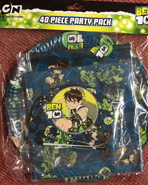 40 Piece Ben 10 Party Pack - Grocery Deals