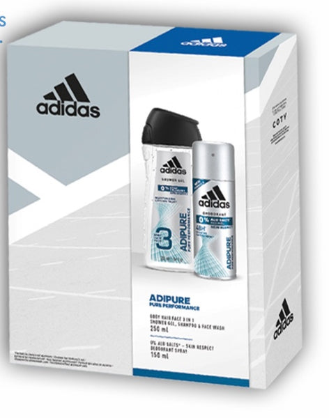 ADIDAS ADIPURE MENS GIFT SET - Grocery Deals
