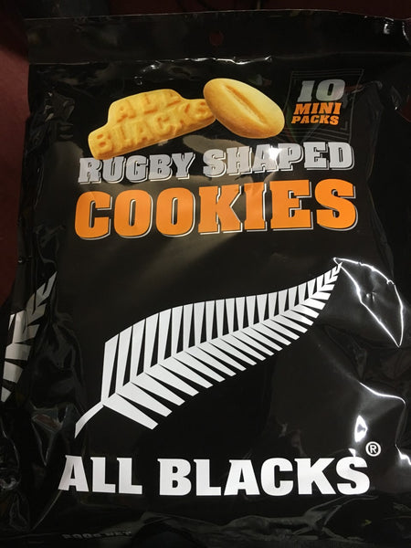 Rugby Shaped Cookies 10 Pack
