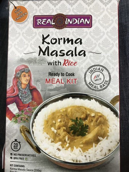 Real Indian Korma Masala Meal Kit