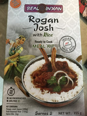 Real Indian Meal Kit - Rogan Josh - Grocery Deals