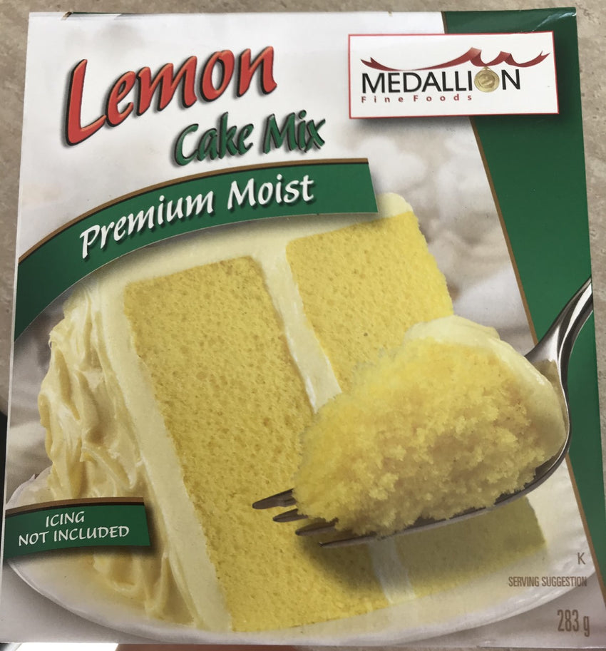 Medallion Lemon Cake Mix - Grocery Deals