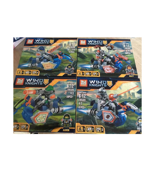 Wind Knights Ninjago pieces