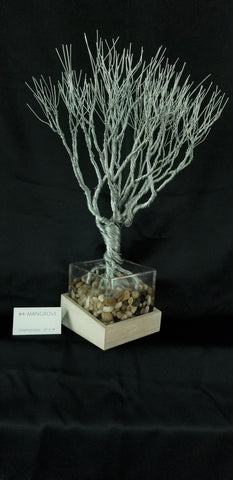 Samuel H. Davis Wire Sculpture