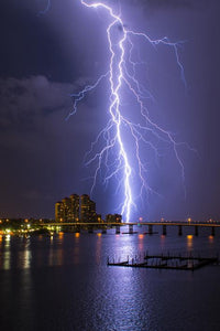 lightening photography Quinn Sedam photographer night photography