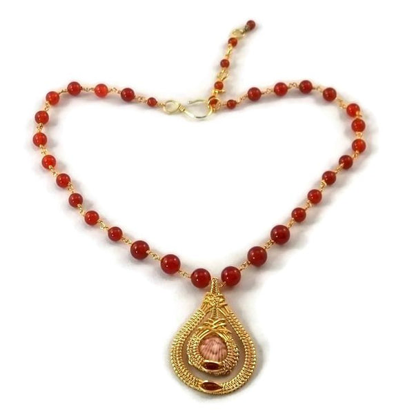 14kt gold fill double drop necklace with carnelian shell pendant silver shell necklace ocean jewelry island jewelry sanibel jewelry sanibel island jewelry captiva jewelry captiva island jewelry ocean inspired jewelry