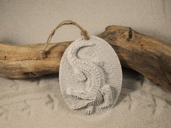 Alligator Sand Ornament