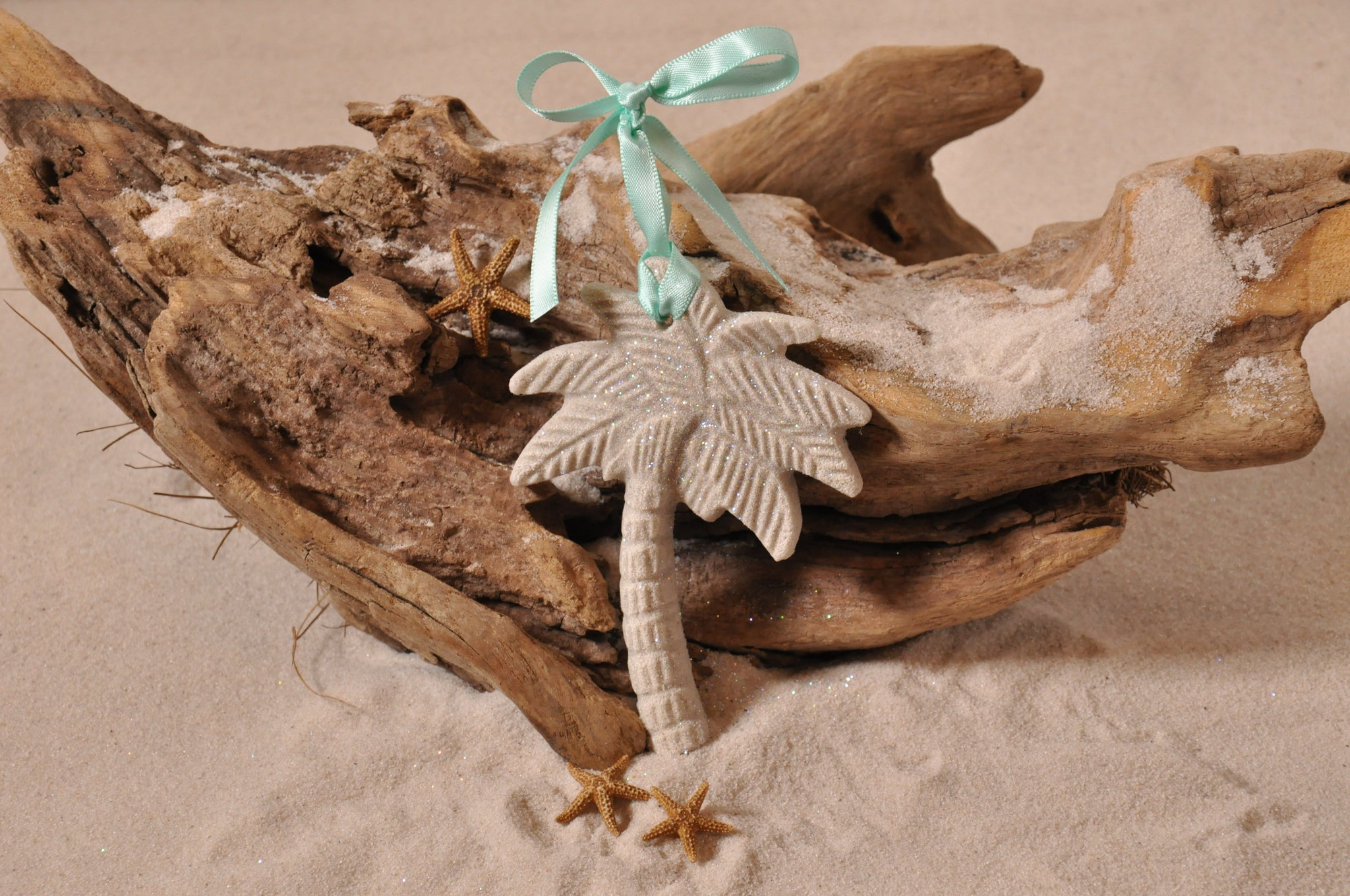 Palm Tree Sand Ornament