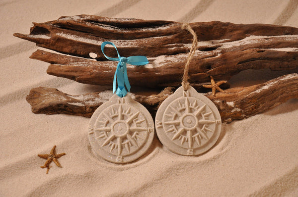 Compass Rose/Nautical Sand Ornament