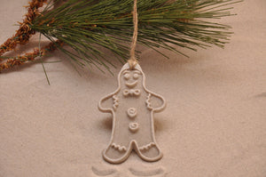 Gingerbread Man Sand Ornament