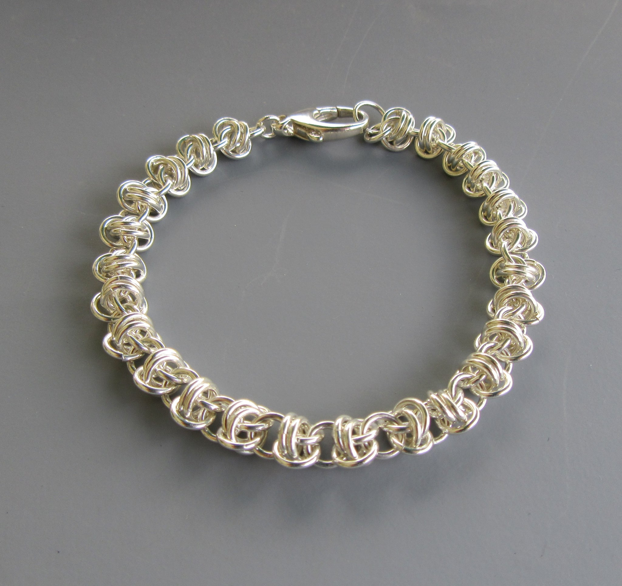 Barrel Weave Chainmaille Bracelet Class with Bev Fox