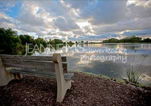 Scenic Bench Photographic Art Jeanne Schwerkoske