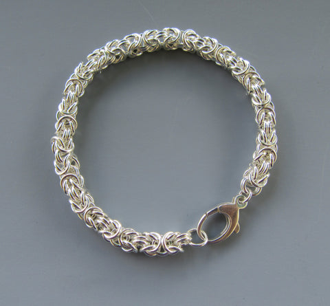 12/4 9am-12pm Ancient Weave Chainmaille 1: Byzantine Bracelet with Bev Fox