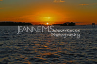 Caloosa Sunset Photographic Art Jeanne Schwerkoske