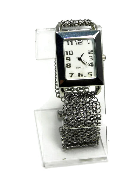 Stainless Steel European 4 in 1 Chainmaille Watch